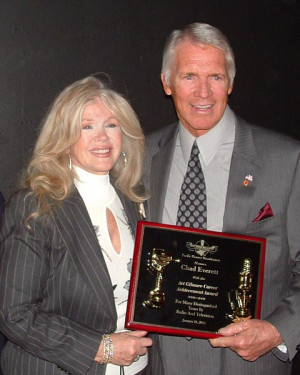 chad everett and his wife