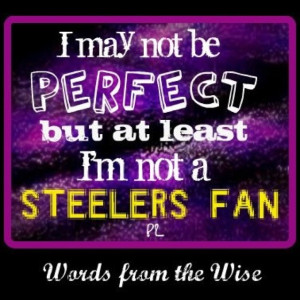 Baltimore Ravens! Can't wait!