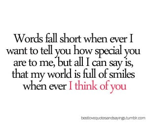 Funny Thinking Of You Quotes For Her Cute thinking of you quotes