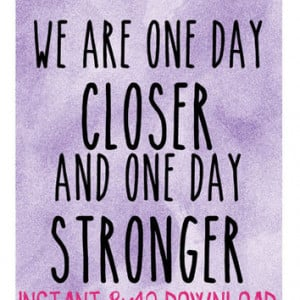 Military Long Distance Relationship Quote - 8x10 Digital Down... More