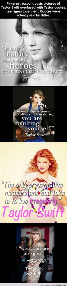 ... quotes funniest taylor swift funny hitler funny quotes funny taylor
