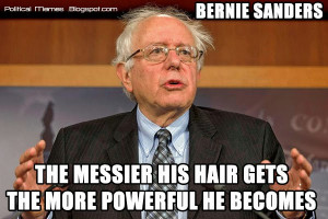 Bernie Sanders Hair Meme + Video