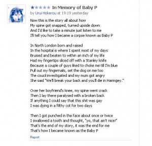 rip baby poems