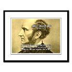 Utilitarianism John Mill Large Framed Print