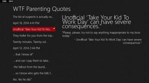 WTF Parenting Quotes