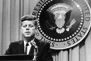 john f kennedy on january 20 1961 john fitzgerald kennedy became the ...