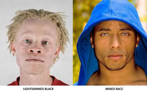 ... mixed race people if you dont see a difference between race and just