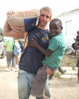 ... send energetic volunteers to help people in need both near and far