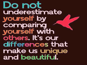 Do Not Underestimate Yourself Quote