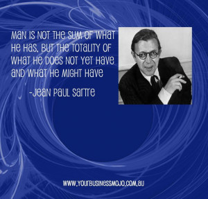 Quote by Jean Paul Sartre