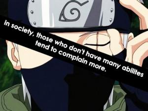 Kakashi Quotes Tag: #kakashi quote #hatake