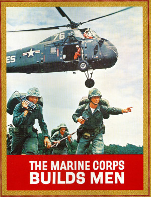 Quote of the day. Air Force appreciation for Marine Grunts!