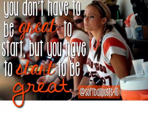 Jennie Finch Quote Softball
