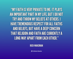 Quotes About My Faith