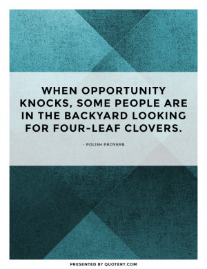 ... Instant Vacation Youtube Images - Opportunity Knocks Quotes Pictures