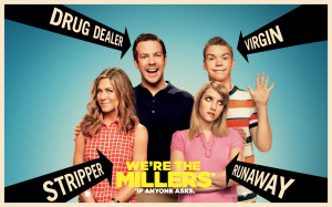 the cast of we're the millers
