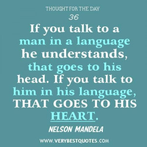 ... quotes communication quotes nelson mandela quotes language quotes