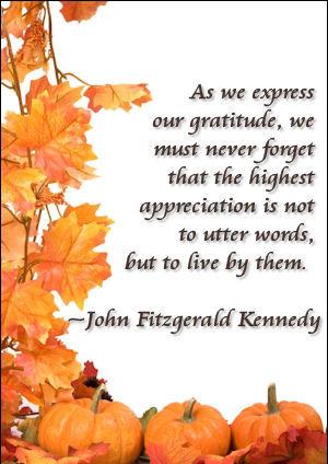 25 Thanksgiving, Gratitude Quotes