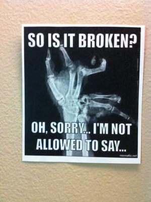 Radiology humor: Radtech