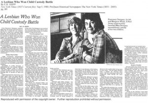 As this 1996 article shows, custody battles continued, this one in ...