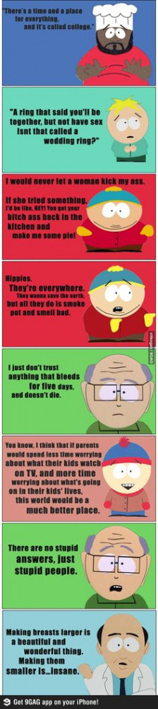 Some great South Park quotes, Go To www.likegossip.com to get more ...
