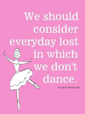 Dance quote.