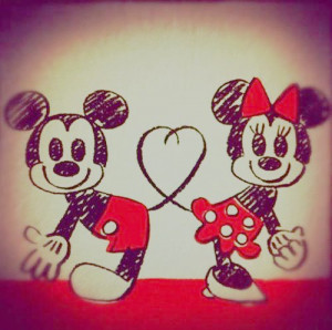 Coisas fofas do Mickey e da Minnie!!