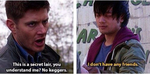 Dean and Kevin | Supernatural quotes