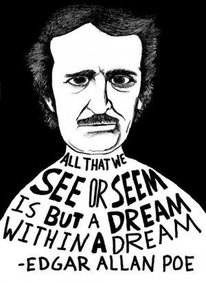 Edgar Allan Poe by Ryan Sheffield