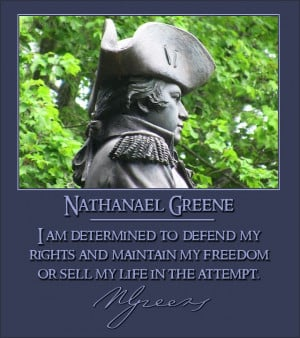 Nathanael Greene Revolutionary War Biography