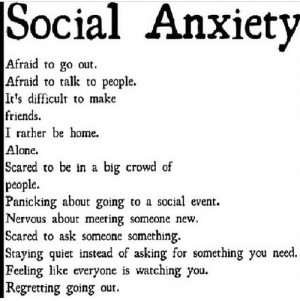 Signs of social anxiety on We Heart It .