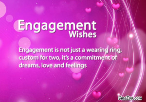 Engagement Wishes Quotes Sms
