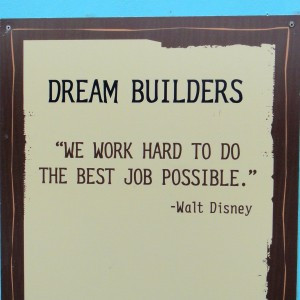 Do you have a favorite Walt Disney quote you don't see on one of these ...