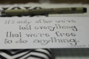 Handwritten Love Quotes