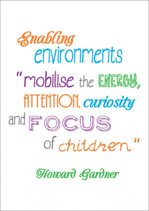 Howard Gardner Quotes Poster: howard gardener
