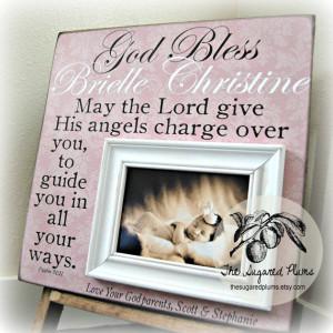 Baptism Gifts for Godchild, Godchild Frame, Gift For Godchild ...