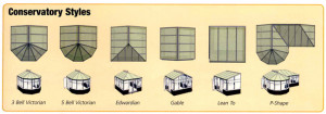 all styles of conservatory choose from a wide range of conservatory