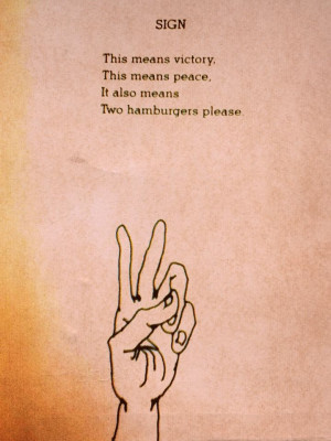 Peace out ️: Shel Silverstein Art, Living Inspiration, Peace Signs ...