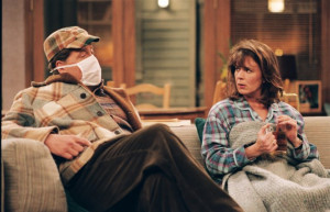 ... of Patricia Richardson and Earl Hindman in Home Improvement (1991