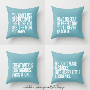 Pillows With Quotes On Them