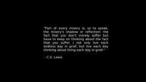 Quotes Shadows Wallpaper 1366x768 Quotes, Shadows, Misery, CS, Lewis