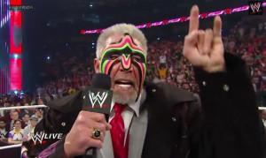 The symbols we see him flash are the Mano Cornuto, aka Devil Horns: