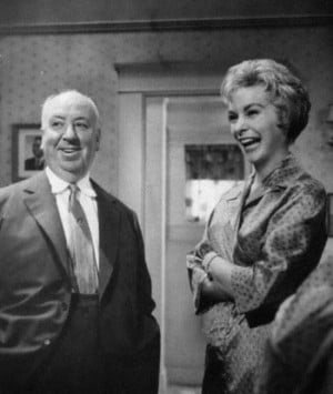 ... quotes | Alfred Hitchcock and Janet Leigh on the set of Psycho (1960