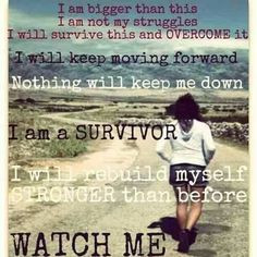 Survivor quote More