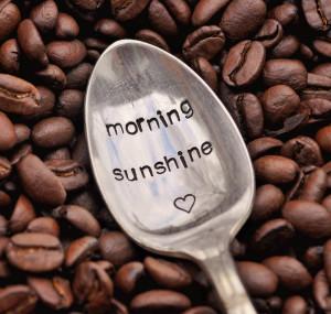 Good Morning Sunshine Funny Morning sunshine - hand