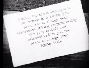 Take responsibility!!