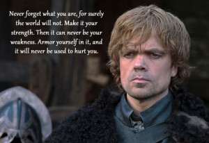 Tyrion Lannister - My Favorite Character
