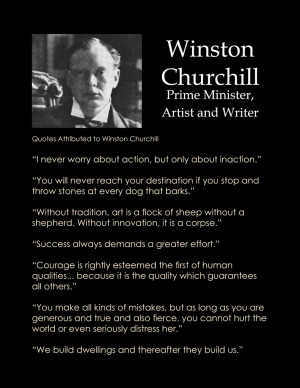Winston Churchill in Quotes