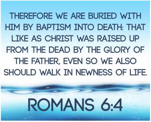 Baptism Verse New