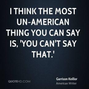 Un-American Quotes